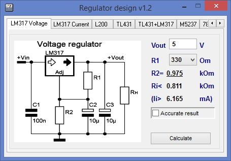 Regulator design